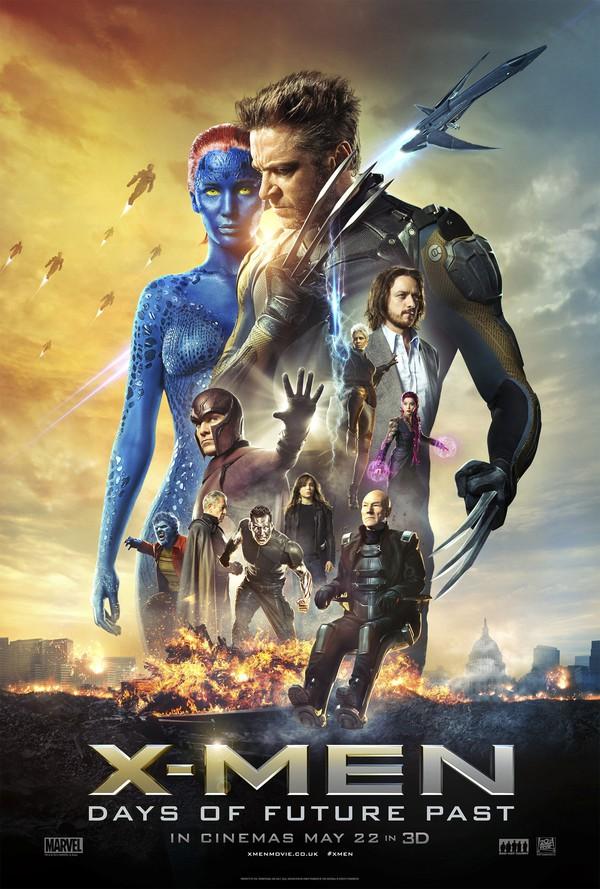"""Tập đoàn dị nhân """"X-Men: Days of Future Past"""" chính thức xuất chiêu 1"""