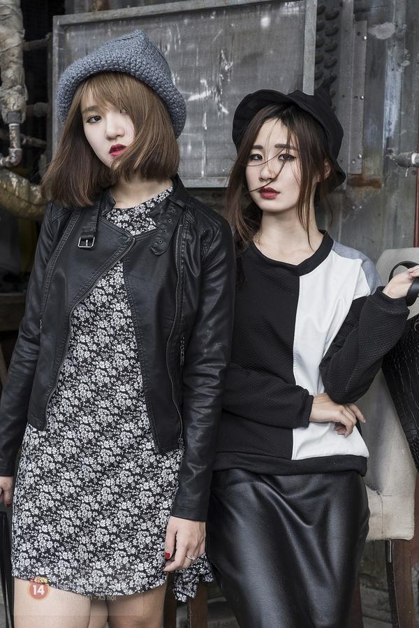 """Những set đồ đôi """"xinh & chất"""" cho 2 nàng bạn thân 15"""
