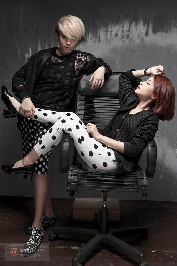 """""""Cặp đôi"""" Chipu & Gil Lê lạnh lùng trong những set đồ ton-sur-ton 15"""