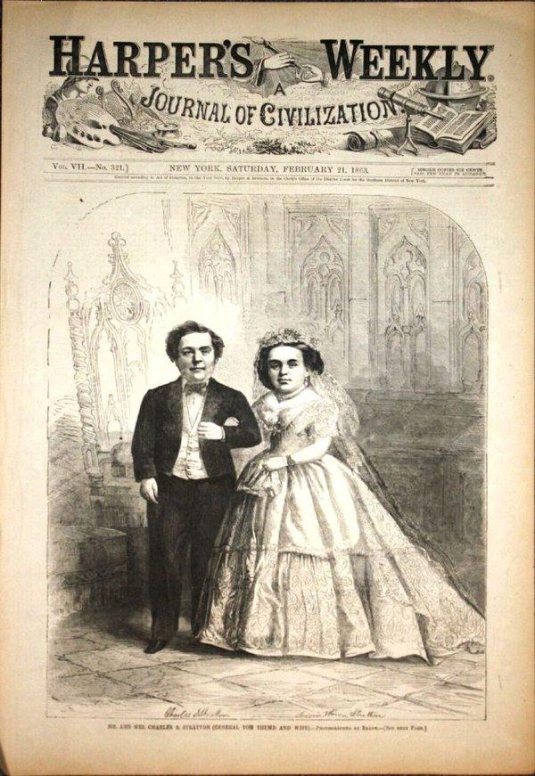 Đám cưới thế kỷ của cặp đôi tí hon 4