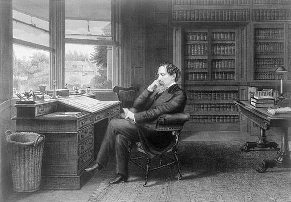 Sở thích ghé thăm nhà xác của nhà văn Charles Dickens 2