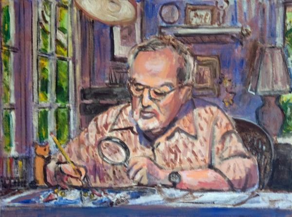 Thời thơ ấu kỳ lạ của các họa sĩ vẽ minh họa nổi tiếng thế giới 4
