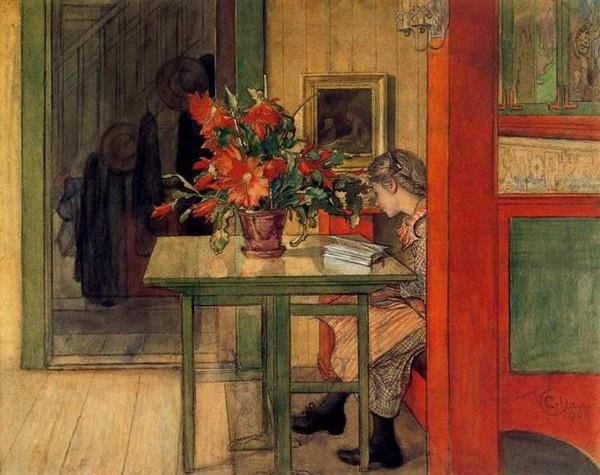 Tình yêu gia đình trong tranh họa sĩ được yêu thích nhất của Thụy Điển 4