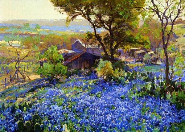 Đứa con cưng của hội họa Texas 9