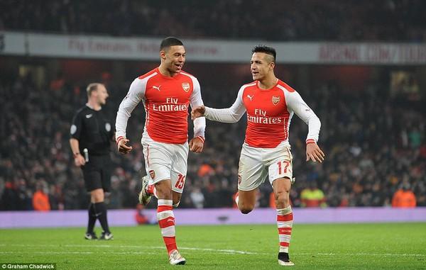 Arsenal 2-0 Hull City: Sanchez rực sáng, Pháo thủ vào vòng 4 FA Cup 1