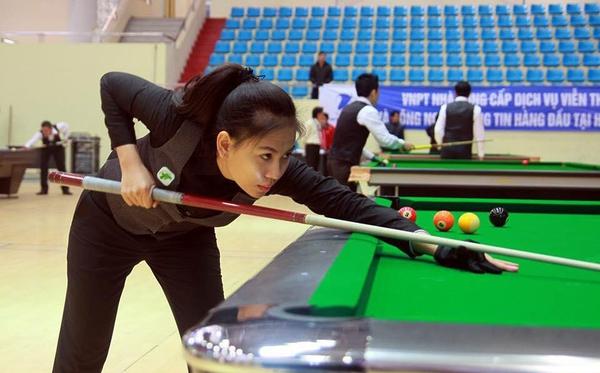 """Nữ cơ thủ xinh đẹp Bích Trâm: """"Con gái chơi Billiards có gì là sai"""" 3"""