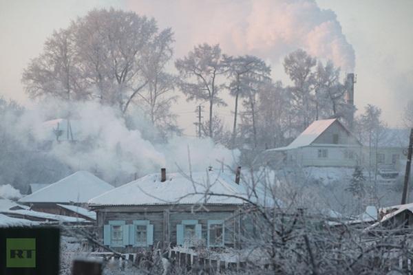 Những hình ảnh đáng sợ về giá lạnh bất thường tại Nga 17