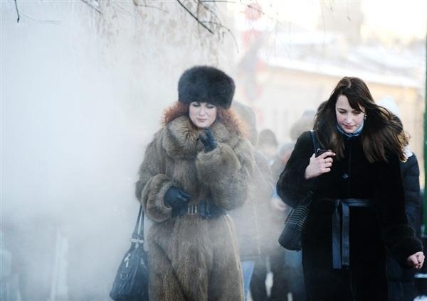 Những hình ảnh đáng sợ về giá lạnh bất thường tại Nga 3