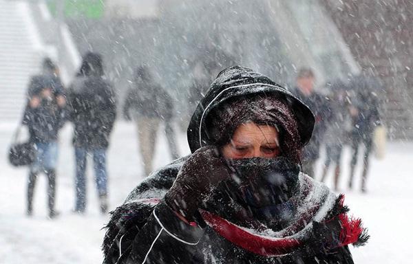 Những hình ảnh đáng sợ về giá lạnh bất thường tại Nga 22