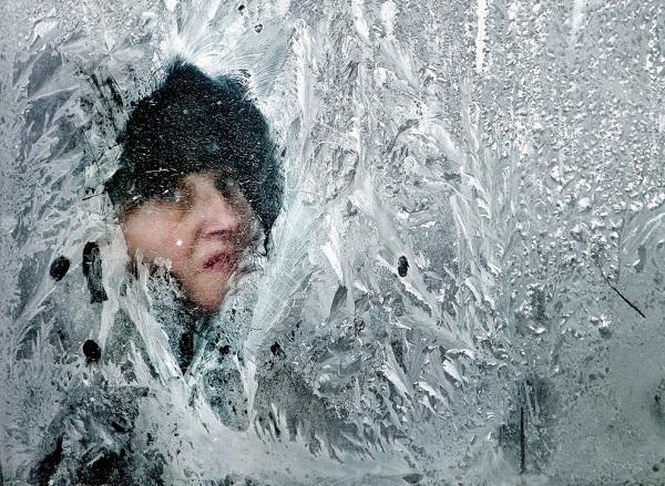 Những hình ảnh đáng sợ về giá lạnh bất thường tại Nga 1