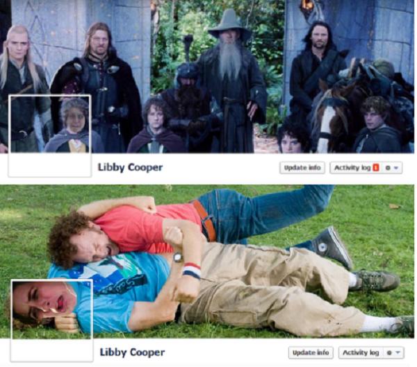 Cô gái bỗng dưng nổi tiếng nhờ ảnh Cover độc đáo nhất Facebook 5
