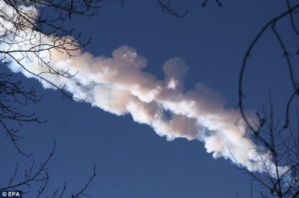 Vụ nổ thiên thạch tại Nga tương đương 30 quả bom nguyên tử 1