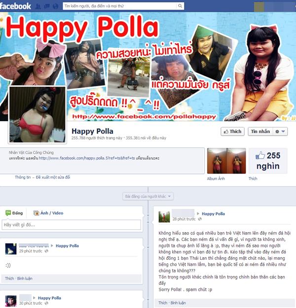 """Happy Polla - """"Nàng béo"""" người Thái làm """"điên đảo"""" cộng đồng mạng Việt 6"""