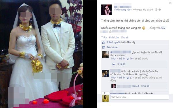 Cô dâu chú rể đeo đầy vàng trong đám cưới khủng ở Lạng Sơn 2