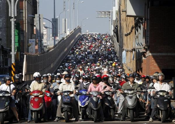 Hình ảnh ấn tượng về sự đông đúc của dân số thế giới 14