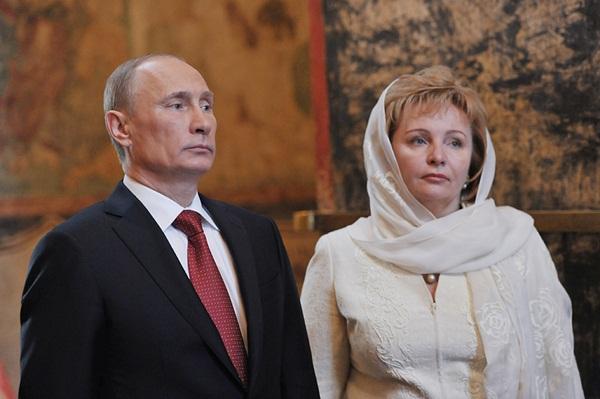 Vợ chồng Tổng thống Nga Putin ly dị 1