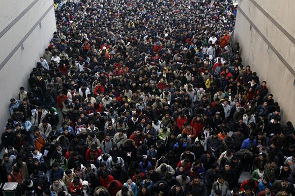 Hình ảnh ấn tượng về sự đông đúc của dân số thế giới 8