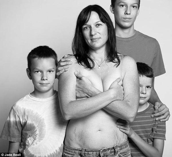 Hình ảnh chân thực về cơ thể của những người phụ nữ sau khi sinh 10
