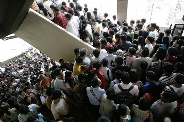 Hình ảnh ấn tượng về sự đông đúc của dân số thế giới 5