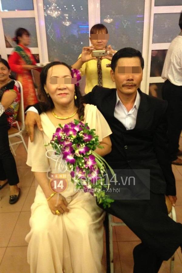 Lộ diện hình ảnh đầy đủ trong đám cưới vợ 63, chồng 38 gây xôn xao 1