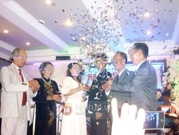 Lộ diện hình ảnh đầy đủ trong đám cưới vợ 63, chồng 38 gây xôn xao 6