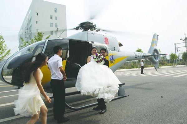 Những siêu đám cưới gây choáng nửa đầu tháng 10 ở Trung Quốc 9