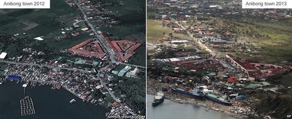 Nhìn lại những hình ảnh không thể nào quên trong siêu bão Haiyan 9