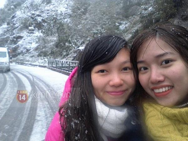 Chùm ảnh hot: Tuyết rơi dày, phủ trắng Sa Pa 15