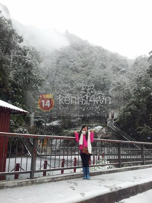 Chùm ảnh hot: Tuyết rơi dày, phủ trắng Sa Pa 16