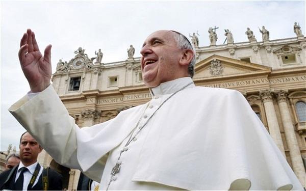 Giáo hoàng Francis được tạp chí Time bình chọn là nhân vật của năm 1