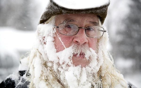 """Nước Mỹ """"đóng băng"""" trong cái lạnh -50 độ C 13"""