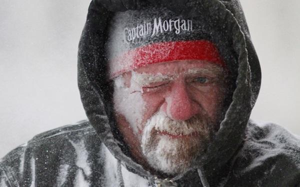 """Nước Mỹ """"đóng băng"""" trong cái lạnh -50 độ C 14"""