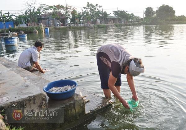 Hà Nội: Cả làng bơm nước ao tù để dùng làm nước sinh hoạt hàng ngày 15