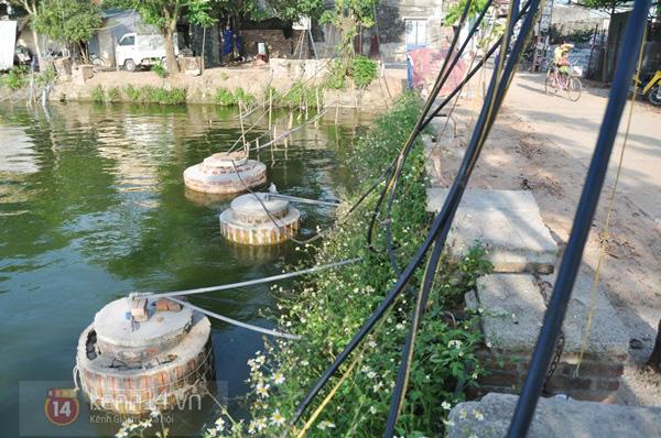 Hà Nội: Cả làng bơm nước ao tù để dùng làm nước sinh hoạt hàng ngày 3
