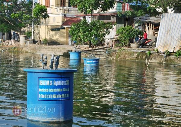 Hà Nội: Cả làng bơm nước ao tù để dùng làm nước sinh hoạt hàng ngày 6