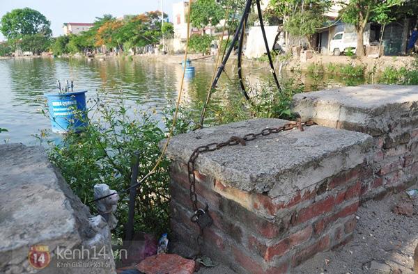 Hà Nội: Cả làng bơm nước ao tù để dùng làm nước sinh hoạt hàng ngày 7