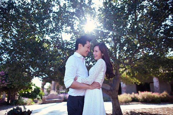 Ngất ngây ảnh cưới lãng mạn của Trúc Diễm và chồng tại Mỹ 3