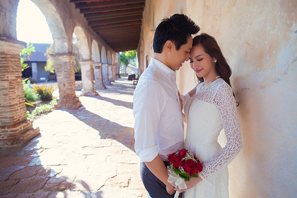 Ngất ngây ảnh cưới lãng mạn của Trúc Diễm và chồng tại Mỹ 4