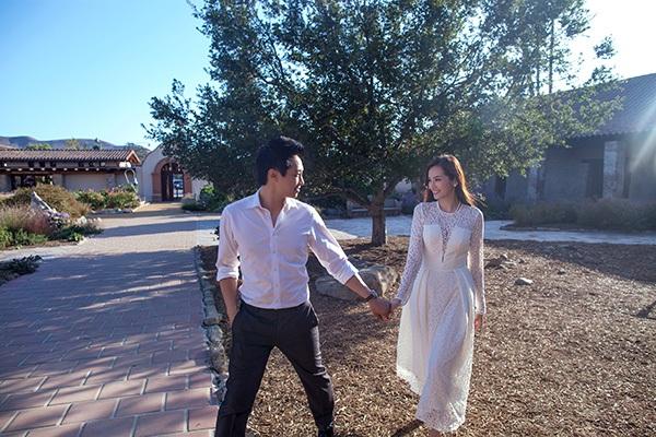 Ngất ngây ảnh cưới lãng mạn của Trúc Diễm và chồng tại Mỹ 5