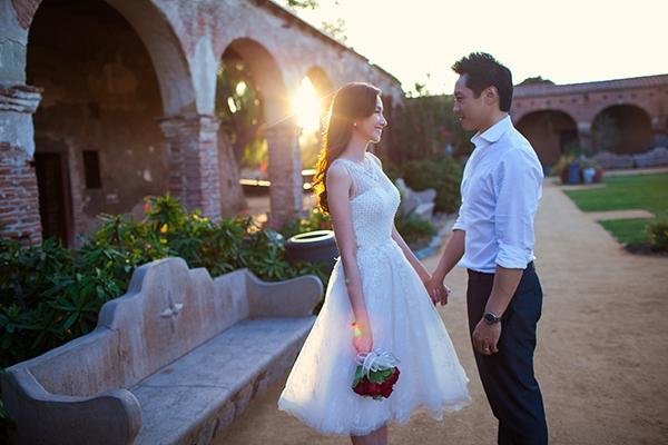 Ngất ngây ảnh cưới lãng mạn của Trúc Diễm và chồng tại Mỹ 9