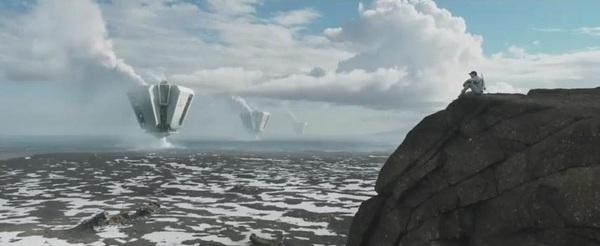 """Hậu tận thế, trái đất hoang tàn trong """"Oblivion"""" 1"""