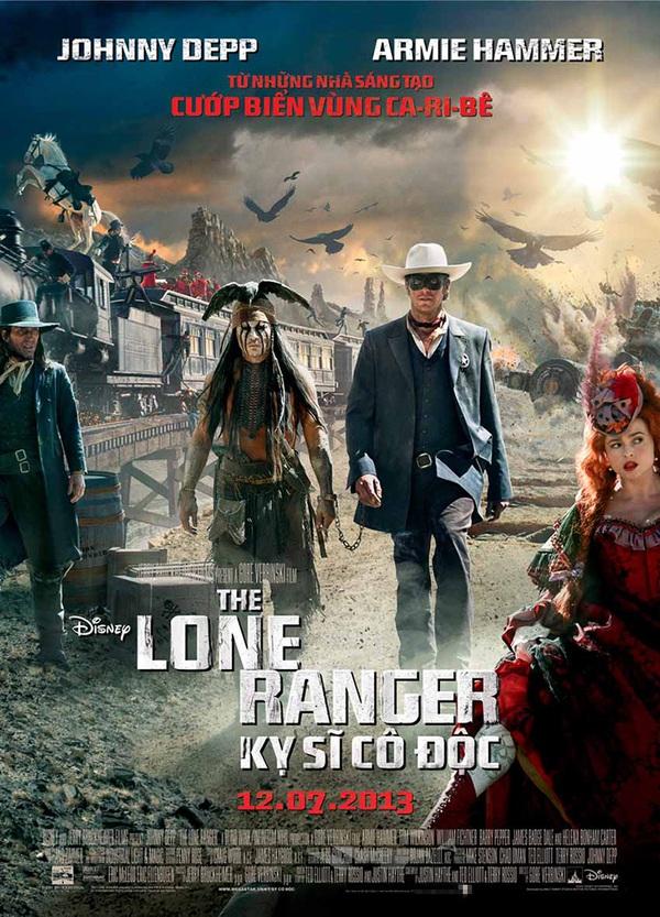 """""""The Lone Ranger"""" chẳng hề cô độc 1"""