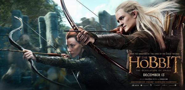 Legolas giương cung chĩa mũi tên vào những người lùn 3