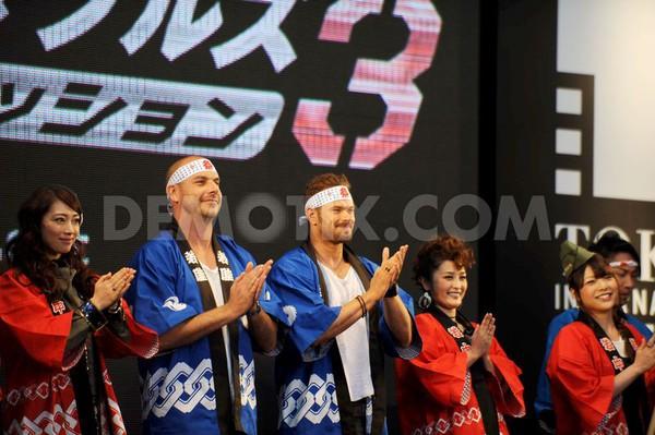 """""""Biệt đội đánh thuê 3"""" được fan nữ săn đón tại LHP Tokyo 5"""