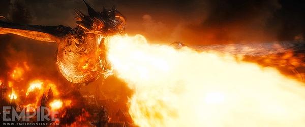 """Rồng ác """"The Hobbit 3"""" nhấn chìm tất cả trong biển lửa 1"""