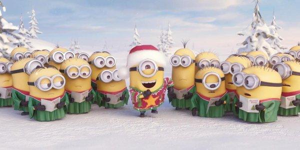 Minion quậy tưng bừng cùng ca khúc Giáng sinh 1
