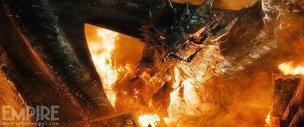 """Rồng ác """"The Hobbit 3"""" nhấn chìm tất cả trong biển lửa 2"""