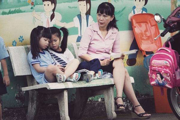 Chùm ảnh: Nhịp sống của người Sài Gòn vào buổi sáng sớm 17