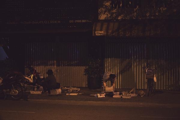 Chùm ảnh: Nhịp sống của người Sài Gòn vào buổi sáng sớm 1