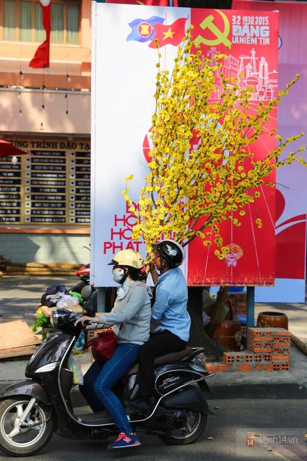 Chùm ảnh: Không khí Tết đã rộn ràng trên từng góc phố Sài Gòn 8